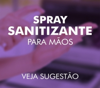 """Featured image for """"Spray Sanitizante para Mãos"""""""